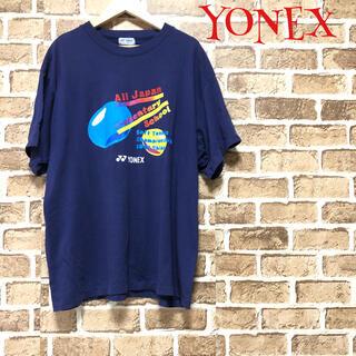 ヨネックス(YONEX)の【希少】❤ヨネックス❤ YONEX Tシャツ ネイビー〈L〉夏 オールジャパン(ウェア)