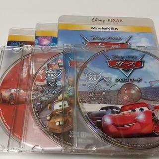 Disney - カーズ 3作品セット DVDディスク 純正ケース付