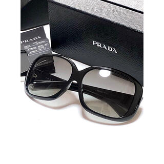 プラダ(PRADA)のPRADA プラダ サングラス SPR25N 黒(サングラス/メガネ)