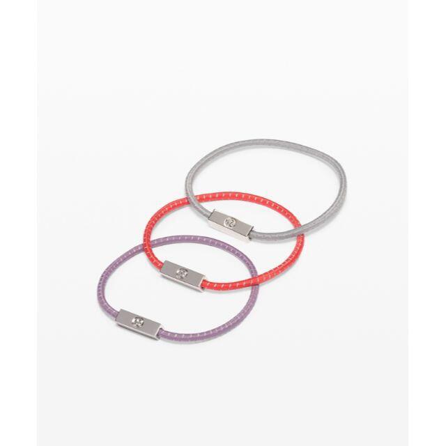 lululemon(ルルレモン)のlululemon ルルレモン ヘアゴム 3本セット スポーツ/アウトドアのトレーニング/エクササイズ(ヨガ)の商品写真