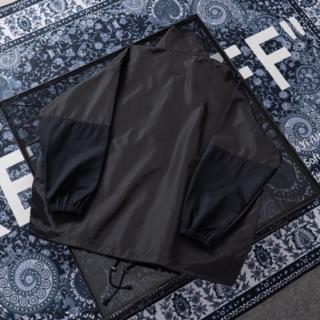 【BALEN CIAGA】ジップアップロゴ ナイロントラックジャケット