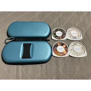 PlayStation Portable - PSP ケース ソフト4点