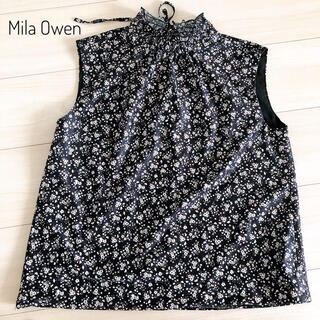 Mila Owen - ミラオーウェン ハイネックノースリーブブラウス