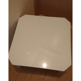ニトリ - ニトリ 折り畳みテーブル 机 ホワイト 白 一人暮らし