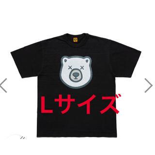 """HUMAN MADE KAWS T-Shirt #5 """"Black""""(Tシャツ/カットソー(半袖/袖なし))"""