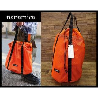 ナナミカ(nanamica)の新品 ナナミカ 20ss パッカブル メッシュ ショルダー トート バッグ ①(バッグパック/リュック)