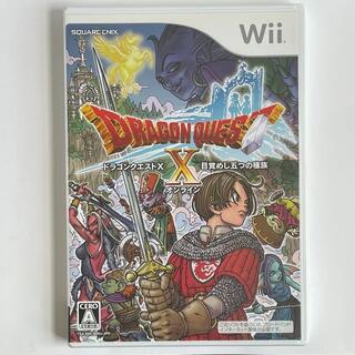 Wii - ドラゴンクエストX 目覚めし五つの種族 オンライン