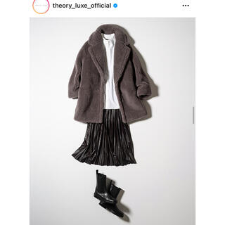 Theory luxe - 美品♡2020AW theoryluxe フェイクレザー ロングスカート