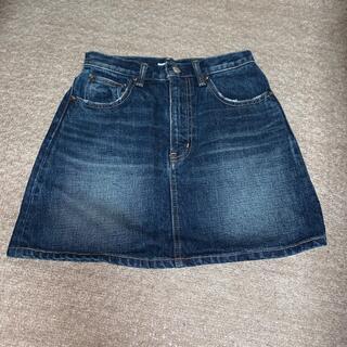スライ(SLY)のSLY jeans デニムスカート デニムミニスカート(ミニスカート)