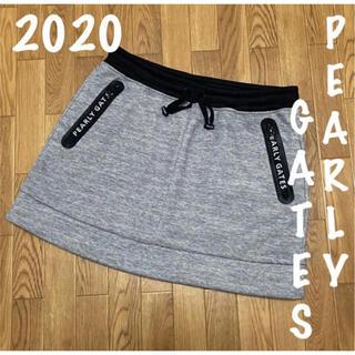 PEARLY GATES - 美品⛳️パーリーゲイツ ストレッチ ダンボールニットスカート レディース