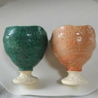 陶器焼き物 コップ(陶芸)