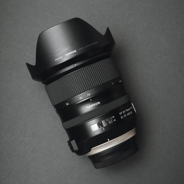 TAMRON(タムロン)の【美品】TAMRON タムロン24-70mm F2.8  ニコン用 スマホ/家電/カメラのカメラ(レンズ(ズーム))の商品写真