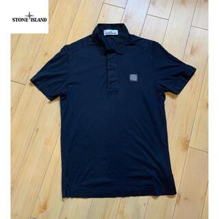 STONE ISLAND - STONE ISLANDS ストーンアイランド  ポロシャツ 黒色