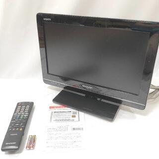 シャープ(SHARP)のSHARP シャープ 16V型 液晶テレビ AQUOS LC-16K5-B(テレビ)