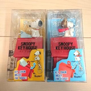 SNOOPY - スヌーピー SNOOPY キーケース ハウス型 新品 鍵入れ