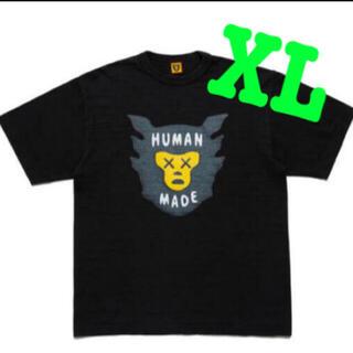 A BATHING APE - HUMAN MADE × KAWS ヒューマンメイド カウズ XLサイズ
