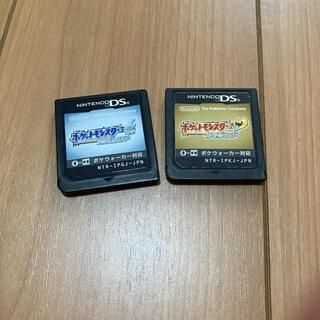 ニンテンドーDS(ニンテンドーDS)のポケモンソフト(携帯用ゲームソフト)