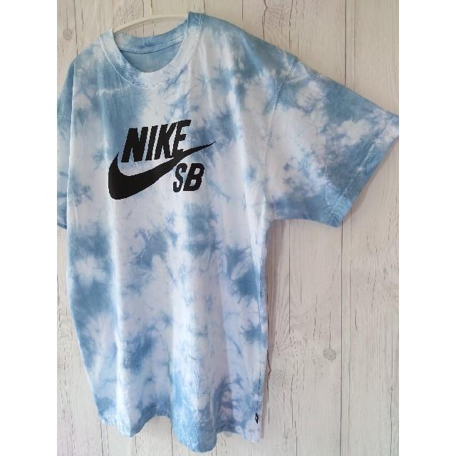 NIKE(ナイキ)のタイダイ染め NIKE SBロゴ Tシャツ サイズL メンズのトップス(Tシャツ/カットソー(半袖/袖なし))の商品写真