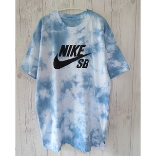NIKE - タイダイ染め NIKE SBロゴ Tシャツ サイズL