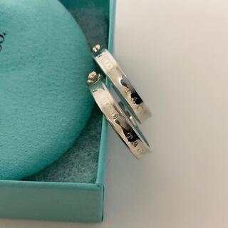 Tiffany & Co. - ティファニーナローピアス