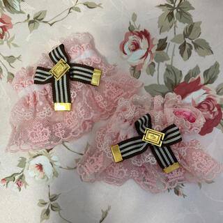 Angelic Pretty - Pretty チェスチョコレート お袖留 ピンク