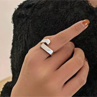 アメリヴィンテージ(Ameri VINTAGE)の【シルバー925リング②】インポートリングzara iena todayful(リング(指輪))