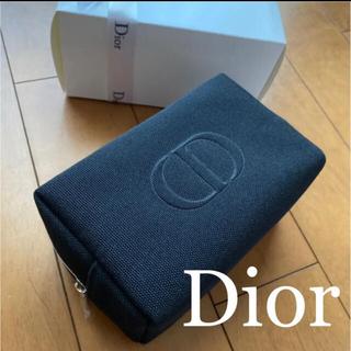 クリスチャンディオール(Christian Dior)のディオール ポーチ ノベルティ 黒 オファー 最新 新品未使用(ポーチ)