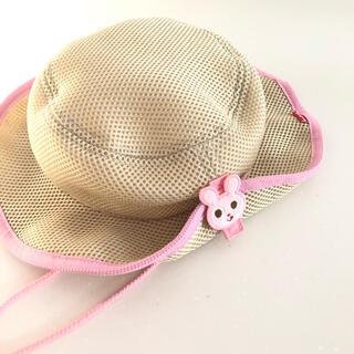 ホットビスケッツ(HOT BISCUITS)のミキハウス ホットビスケッツ ハット 54cm ピンク 帽子 女の子 うさこ (帽子)