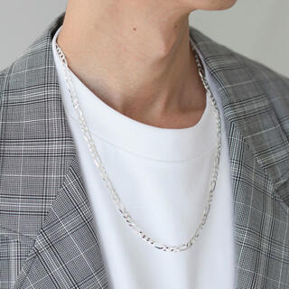 MM6 - MOLA Silver /Figaron Necklace チェーン ネックレス