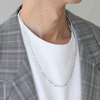 コモリ(COMOLI)のMOLA Silver /フィガロ シルバー チェーン ネックレス(ネックレス)