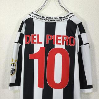 【イタリア製】サッカーセリエA ユベントス ゲームシャツ デルピエロ 10番