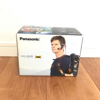 Panasonic -  パナソニック ウェアラブルカメラ グレー HX-A500-H