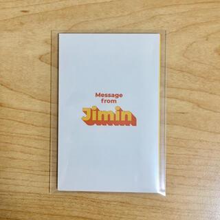 防弾少年団(BTS) - BTS Butter メッセージカード Jimin