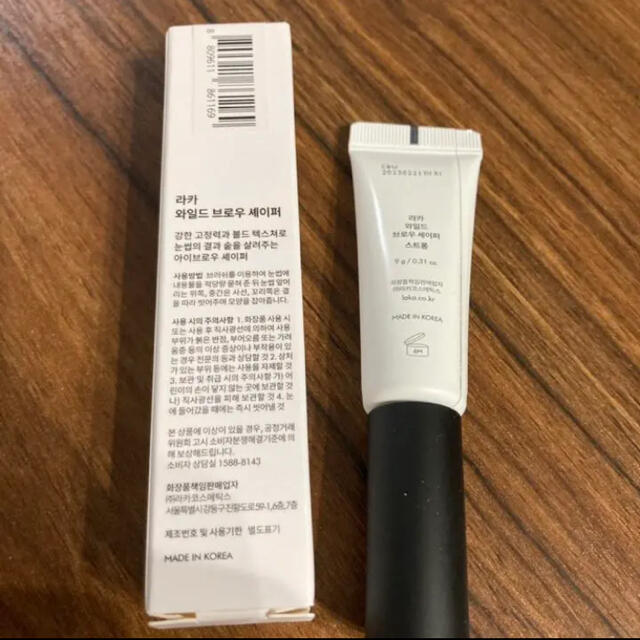 LAKA ワイルドブロウシェイパー ストロング コスメ/美容のベースメイク/化粧品(眉マスカラ)の商品写真