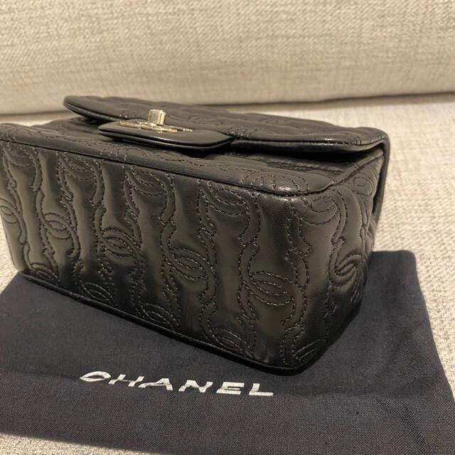 CHANEL(シャネル)の美品 CHANEL シャネル ミニマトラッセ チェーンショルダー ラムスキン  レディースのバッグ(ショルダーバッグ)の商品写真