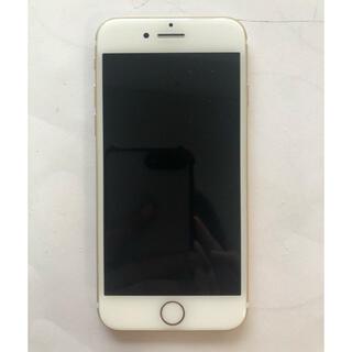 iPhone - SIMフリー 本体 iPhone 7 128 GB ゴールド イヤホン付き