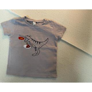 Tシャツ 80 恐竜 カレー apres les cours