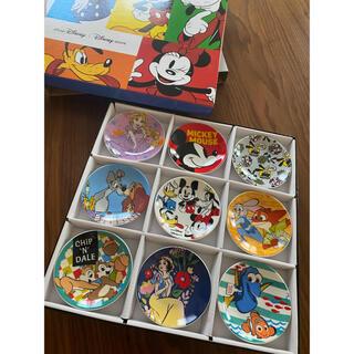 Disney - ディズニー豆皿9枚セット 【第一弾】