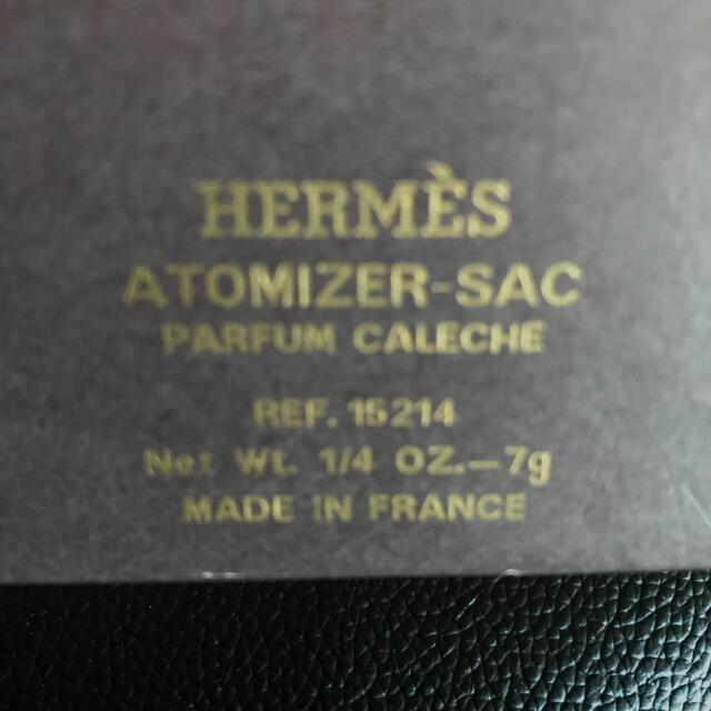 Hermes(エルメス)のHERMES カレーシュ CALECHE アトマイザー&未使用スプレー2本  コスメ/美容の香水(香水(女性用))の商品写真