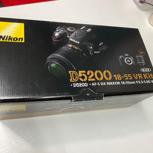Nikon(ニコン)のNikon D520018-55 VR Kit(中古) スマホ/家電/カメラのカメラ(デジタル一眼)の商品写真