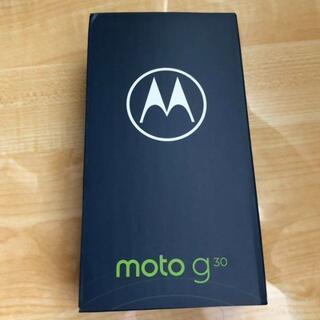 Motorola - 新品 モトローラ moto g30 ダーク・パール SIMフリー