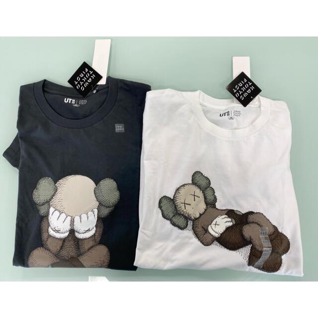 UNIQLO(ユニクロ)のkaws×UNIQLO グラフィックTシャツ 2枚セット + フリーペーパー メンズのトップス(Tシャツ/カットソー(半袖/袖なし))の商品写真