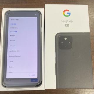 【新品未使用】Pixel4a5G ブラック