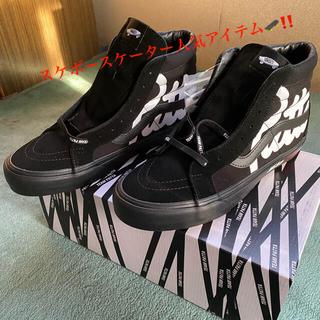 """VANS - パタ × バンズ ボルト LX SK8-ハイ """"ブラック""""27.5㌢"""