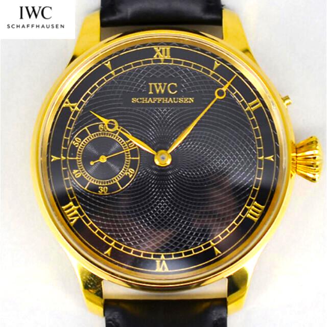 IWC(インターナショナルウォッチカンパニー)の【一品物】IWC 手巻き ハイブランド 腕時計 メンズ ウォッチ 1908年  メンズの時計(腕時計(アナログ))の商品写真