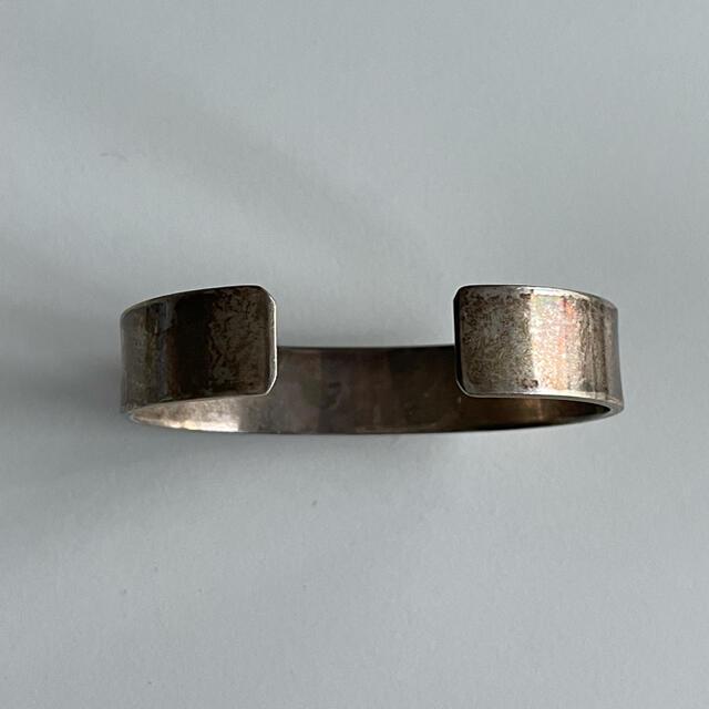 goro's(ゴローズ)のgoro'sゴローズ平打ちバングルSサイズ硫化金焼け メンズのアクセサリー(ブレスレット)の商品写真