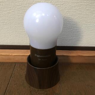 パナソニック(Panasonic)のPanasonic LEDランタン 木目調 茶色(ライト/ランタン)