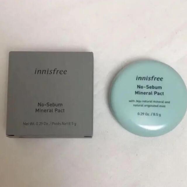 Innisfree(イニスフリー)のイニスフリー ミネラルパクト イニスフリーパウダー コスメ/美容のベースメイク/化粧品(フェイスパウダー)の商品写真