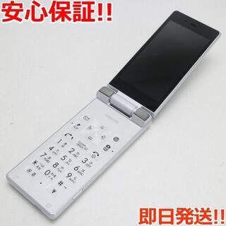 アクオス(AQUOS)の超美品 SoftBank 501SH AQUOS ケータイ ホワイト (携帯電話本体)