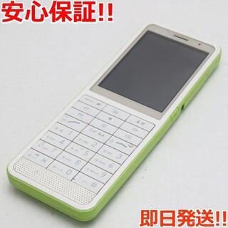 エルジーエレクトロニクス(LG Electronics)の良品中古 L-04B グリーン (携帯電話本体)